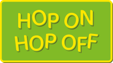 Hop On - Hop Off logo