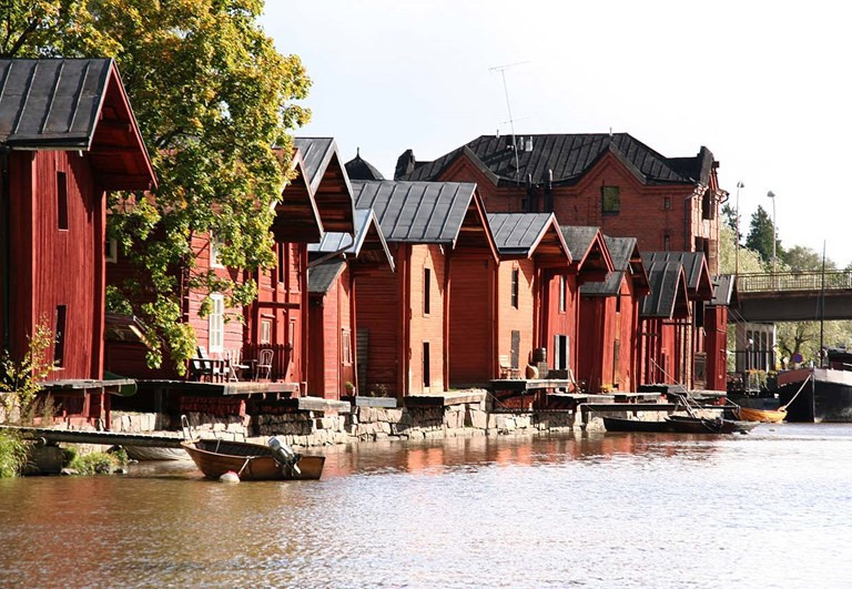 Cruise to old town of Porvoo from Helsinki