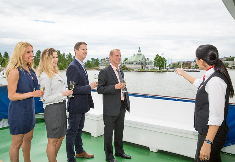 Guided charter cruise in Helsinki