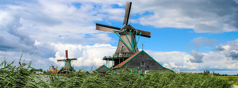 Windmills in Amsterdam