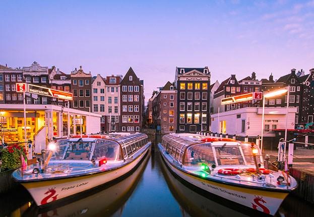 3f7b0769b543 Hop on Hop off Boat - Amsterdam Sightseeing
