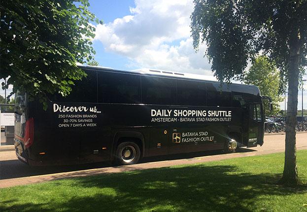b90ae5584d7 Shopping shuttle from Amsterdam | Batavia Stad Fashion Outlet