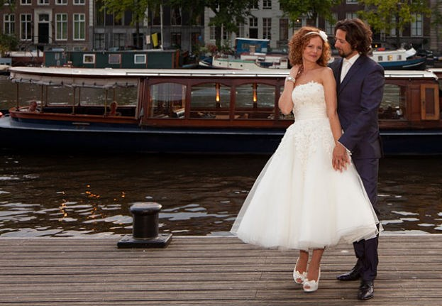 Getting married on a saloon steamer in Amsterdam