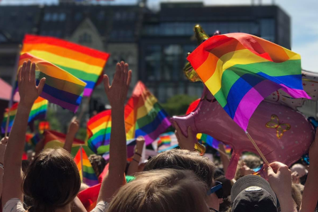 Oslo Pride Parade 30th of June!