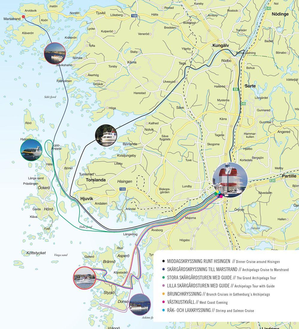 karta göteborg marstrand Skärgårdskryssning till Marstrand   Göteb| Stromma.se karta göteborg marstrand