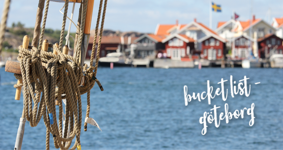 Your summer bucket list for a staycation in Gothenburg