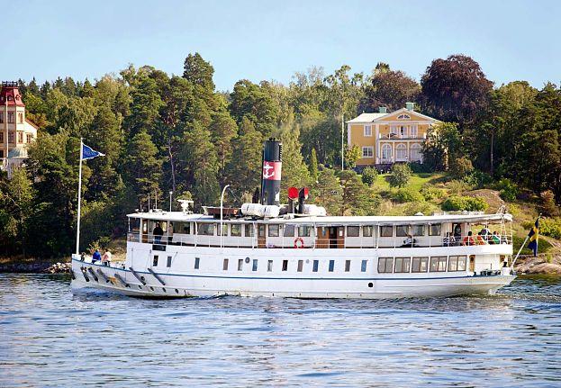 brunch båt stockholm