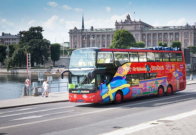 Hop On – Hop Off Stockholm bus & boat – ABBA The Museum