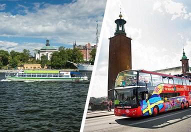 Hop On – Hop Off bus sightseeing Stockholm, Sweden
